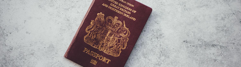 red british passport